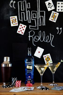 The High Roller Martini for National Vodka Day