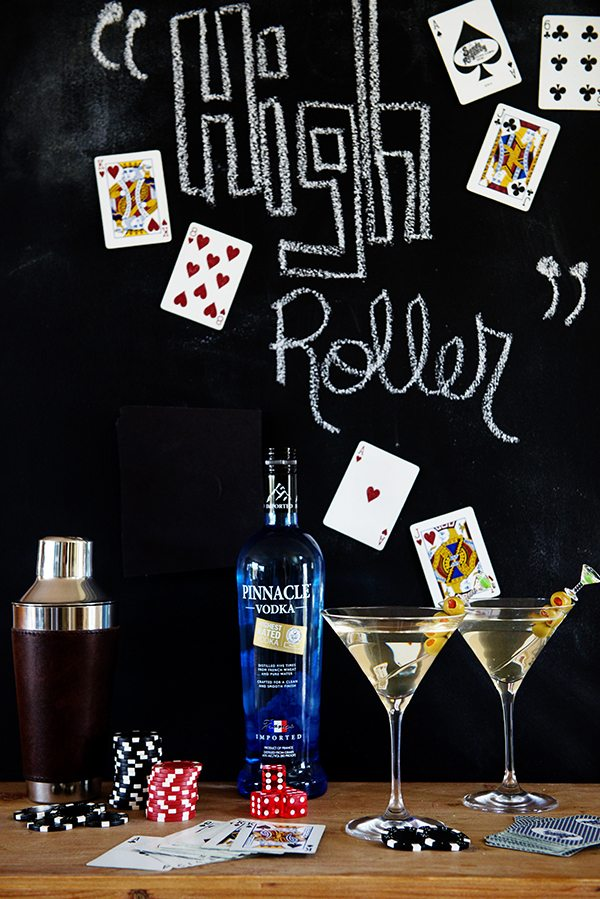 The High Roller Martini recipe on dineanddish.net