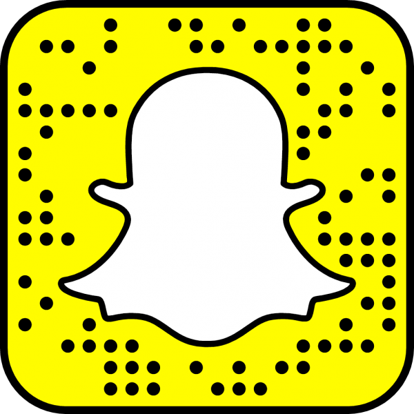 Kristen's Snapchat snapcode