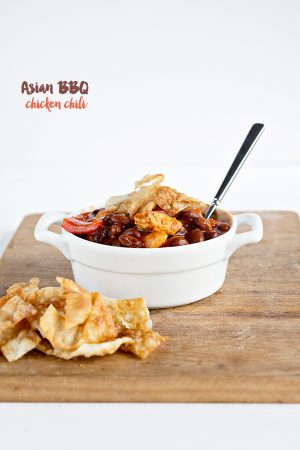 Asian BBQ Chicken Chili Recipe