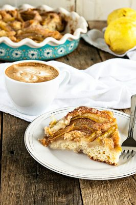 Cinnamon Pear Coffee Cake Recipe