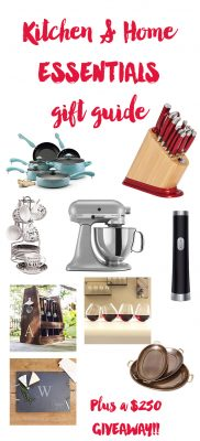 Kitchen & Home Essentials Gift Guide ($250 Giveaway!)