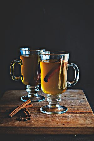 Hard Pineapple Cider is a unique take on hot Apple Cider from dineanddish.net