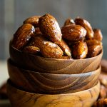 Honey Glazed Almonds Recipe on dineanddish.net