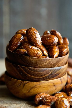 Grace's Honey Glazed Almonds Recipe