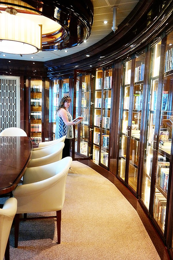 Princess Cruise Ship Library