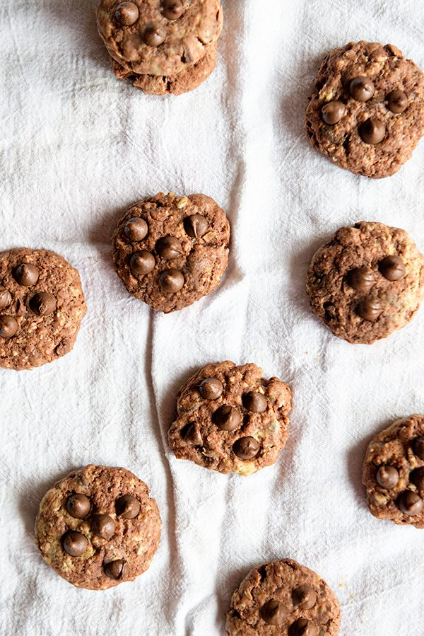 double chocolate spiced oatmeal cookies recipe