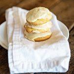 Orange Drop Cookies with Orange Cream Icing on dineanddish.net