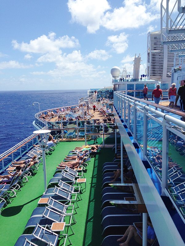 Princess Cruise Deck