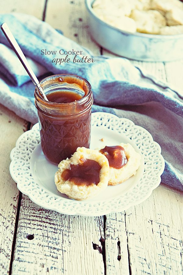Slow Cooker Apple Butter Recipe from dineanddish.net