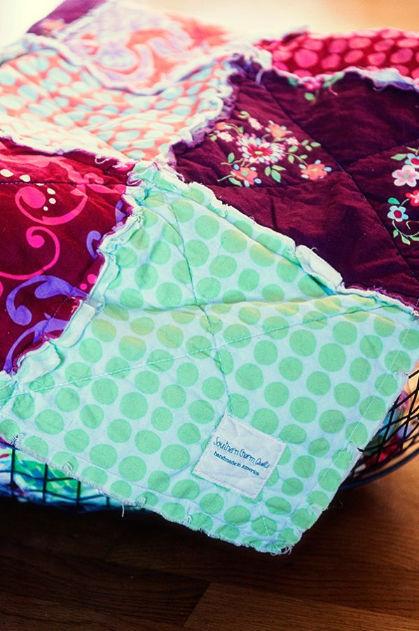 Southern Charm Quilts Rag Quilt