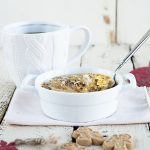 Eggnog Custard Oatmeal Brulee recipe on dineanddish.net