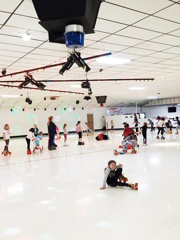 Roller Skating Leah