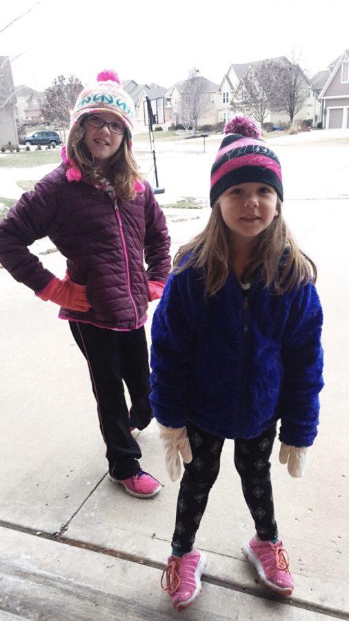 Girls In Stocking Caps