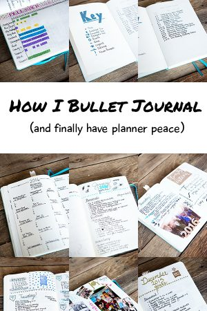 How I Bullet Journal (and Found Planner Peace) Video