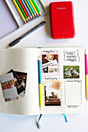 How I Use My Polaroid Printer For Bullet Journaling