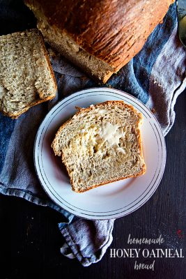 A Cozy Home – Homemade Honey Oatmeal Bread Recipe