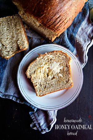 Homemade Honey Oatmeal Bread Recipe on dineanddish.net