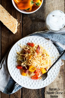 Bacon and Chipotle Cheddar Linguine Recipe