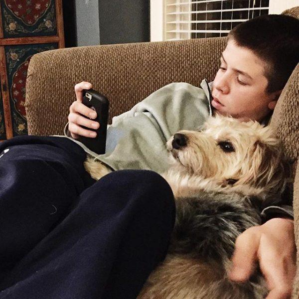 Feb 9 Jacob on phone