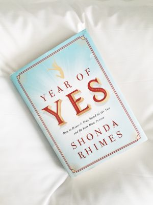 Shonda Rhimes and Her Year of Yes {Weekly Reads}
