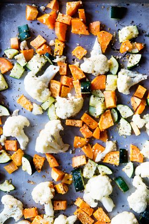 For My Kids {Simple Roasted Vegetables Recipe)
