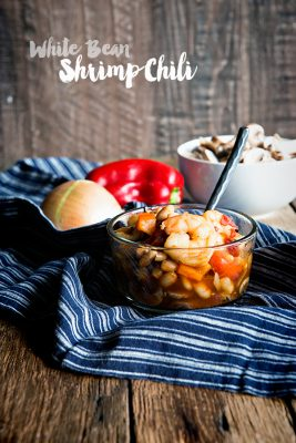Meatless Made Easy: White Bean Shrimp Chili Recipe