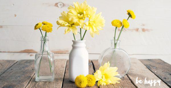 Be Happy Flowers
