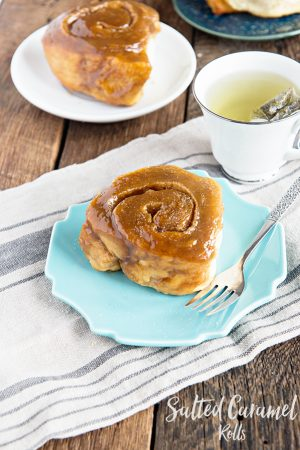 Salted Caramel Rolls Recipe
