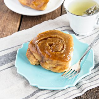 Homemade Salted Caramel Rolls. This Beginner's recipe is a keeper!