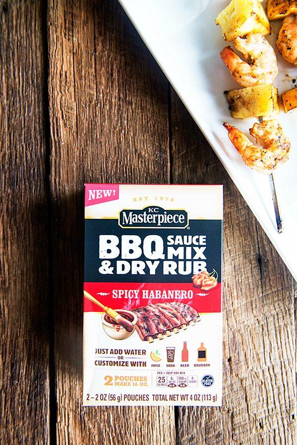 KC Masterpiece BBQ Sauce Mix and Dry Rub