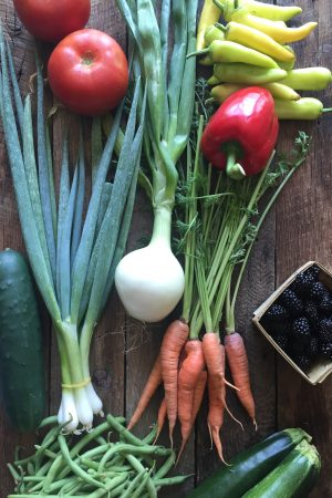 Recipes Ideas for a Farmers' Market Haul