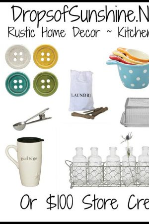 Drops of Sunshine Kitchenware Giveaway