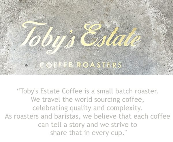 About Toby's Estate New York Coffee Shop