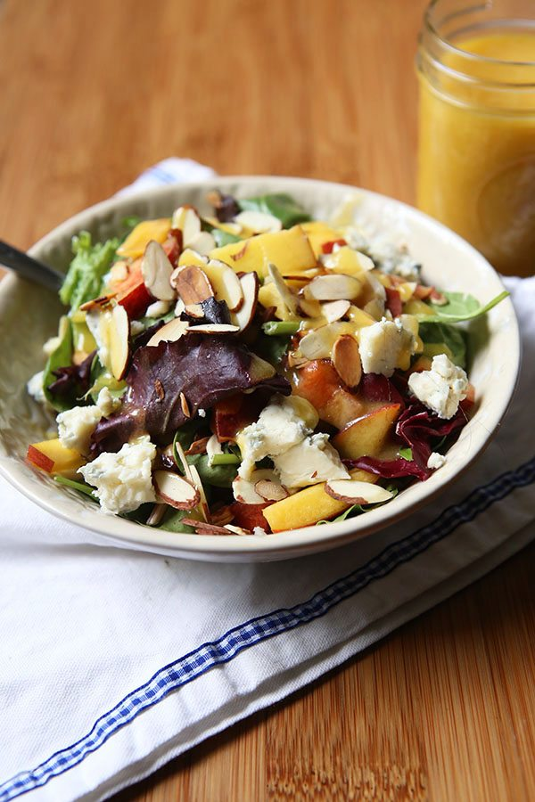 Almond Peach Summer Salad 2