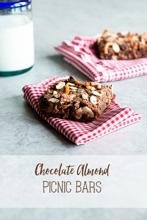 Chocolate Almond Picnic Bars Recipe