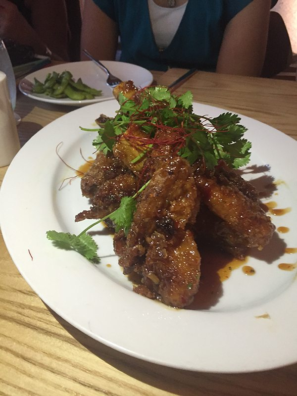 Asian Ribs at Chef Morimoto's restaurant