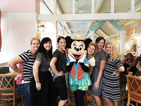 Character Breakfast with Minnie at Beach Club Resort