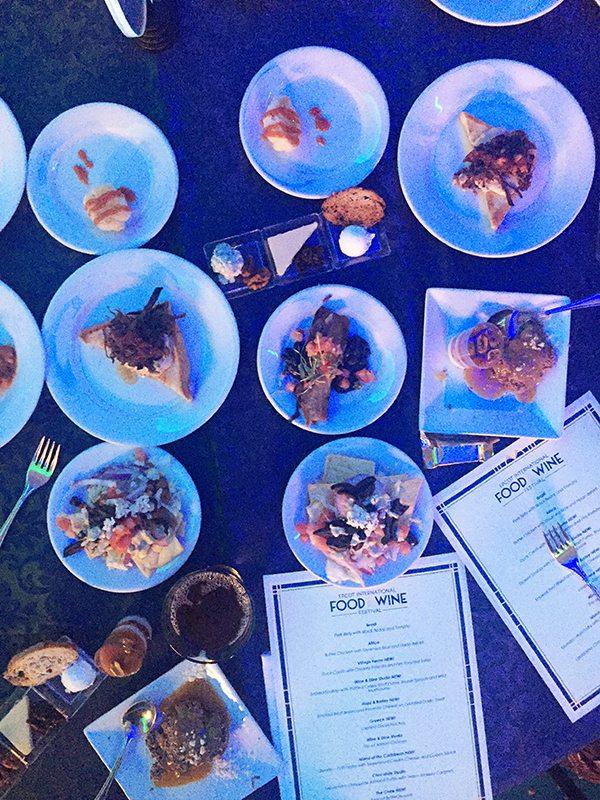 Food and Wine Festival Tastings