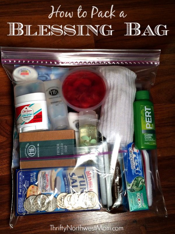 Blessing Bag Kits from Thrifty Northwest Mom