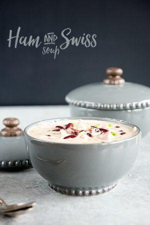 Hearty Ham and Swiss Soup Recipe