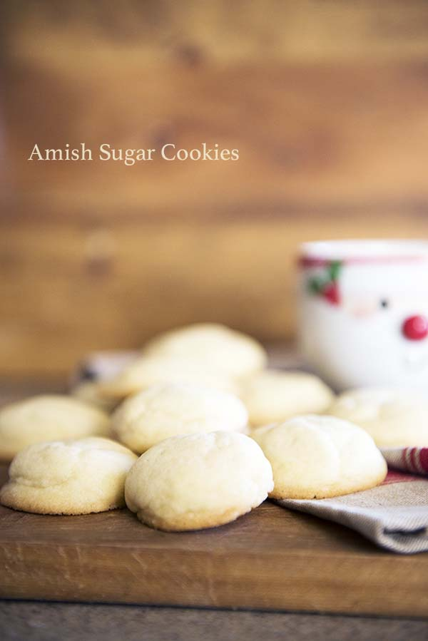 Amish Sugar Cookies recipe from dineanddish.net