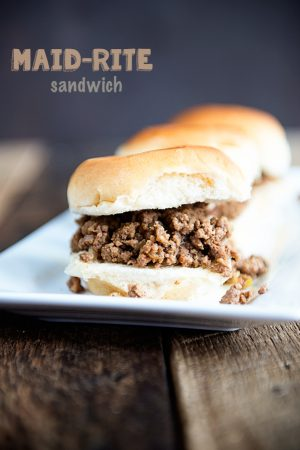 Iowa Style Maid-Rite Sandwiches Recipe