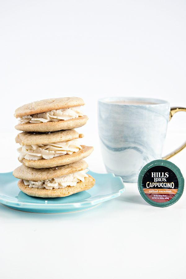 Hills Bros Salted Caramel Cappuccino Cookies Recipe