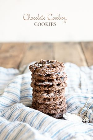 Chocolate Cowboy Cookies Recipe