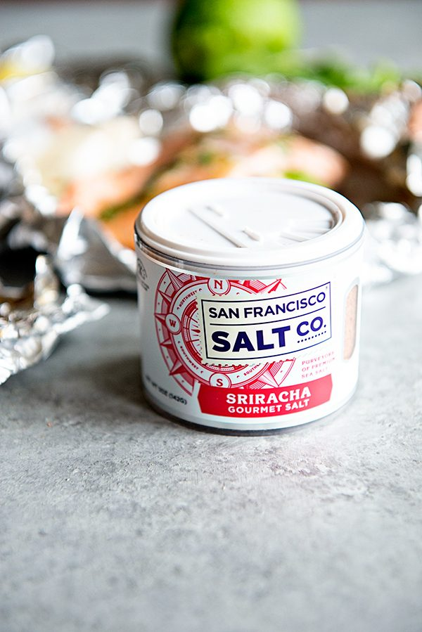 Sriracha Sea Salt from San Francisco Salt Co