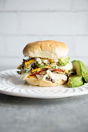 California Cobb Salad Sandwich Recipe