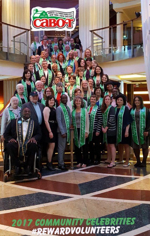 Cabot Reward Volunteers Alaskan Cruise