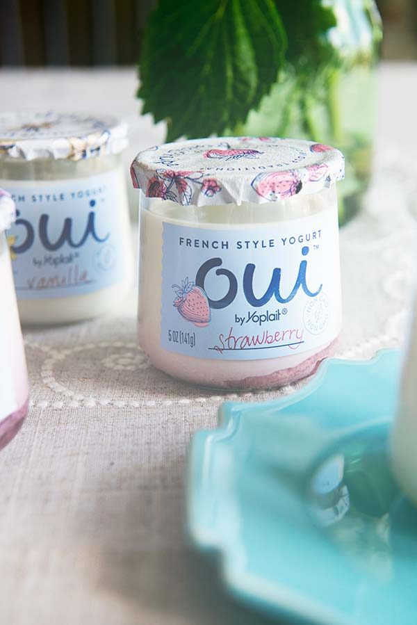 Oui Strawberry French Style Yogurt