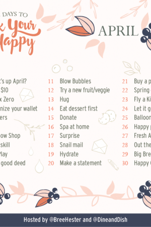 April 2017 Rock Your Happy Prompts
